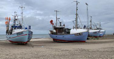 Fischkutter Thorup Strand