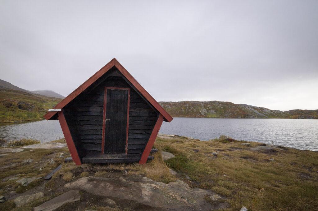Schutzhütte am Kratersjön