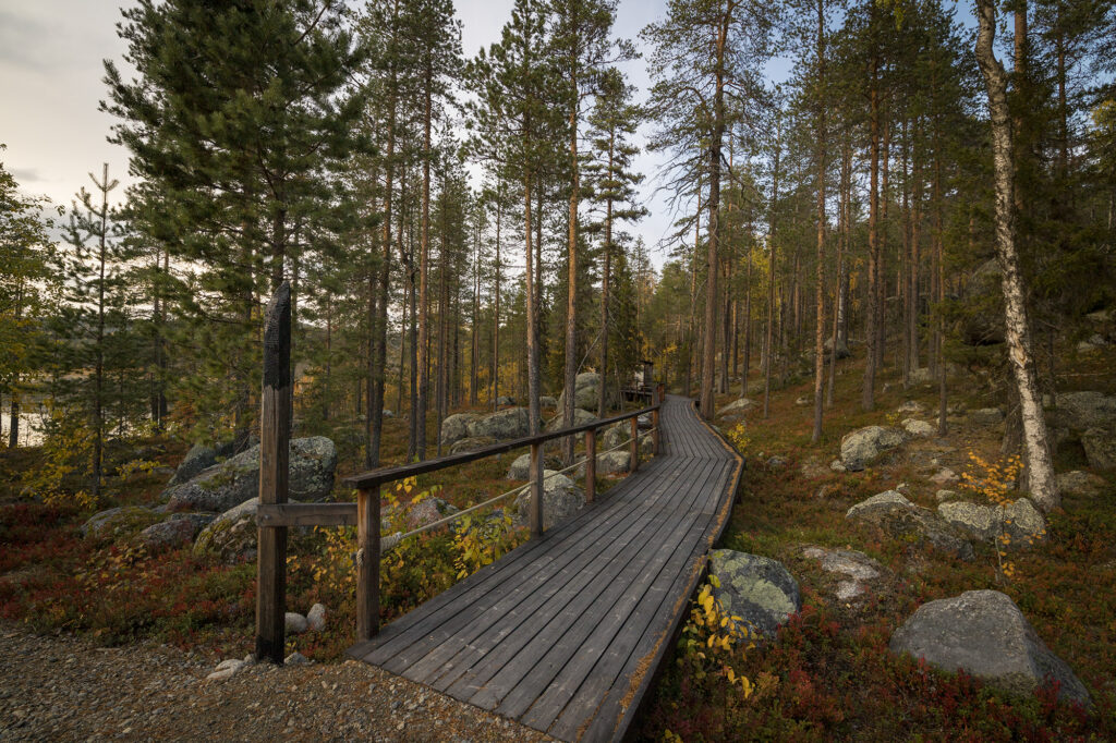 Eingang Björnlandet-Nationalpark