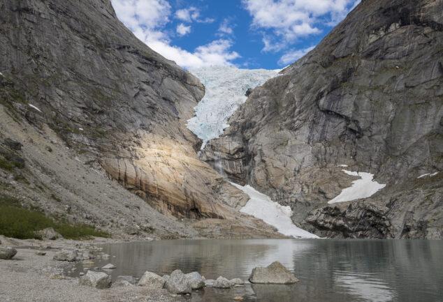 Gletscher Briksdalsbreen
