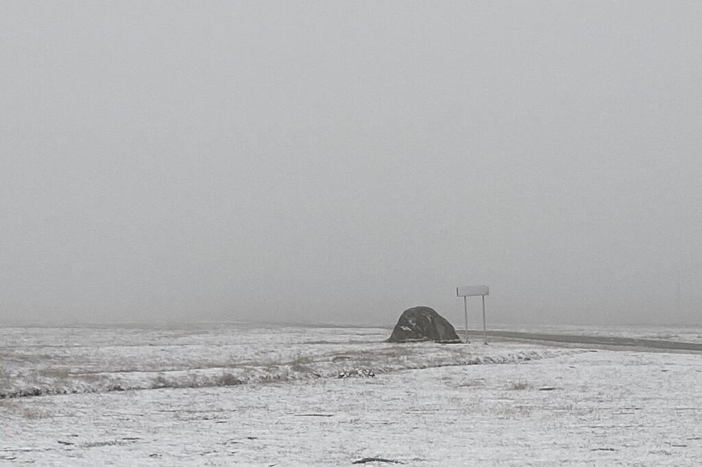 Flatruet im Schnee