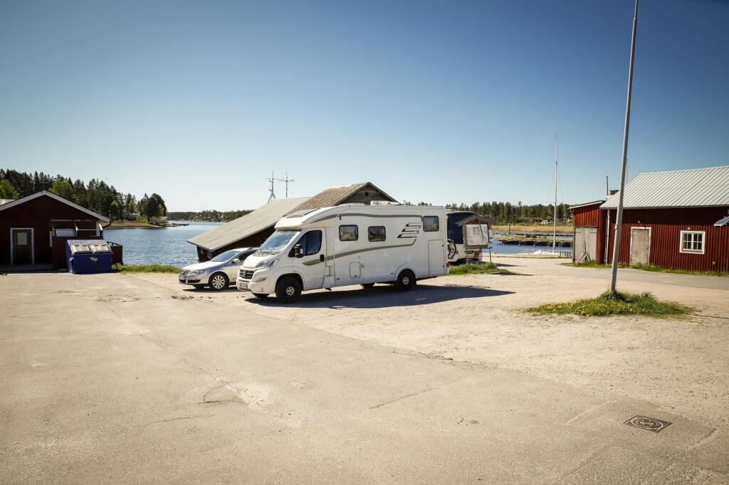 Parkplatz Mellanfjärden