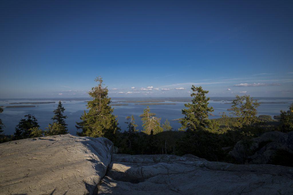 Der Ausblick vom Gipfel Ukko-Koli.