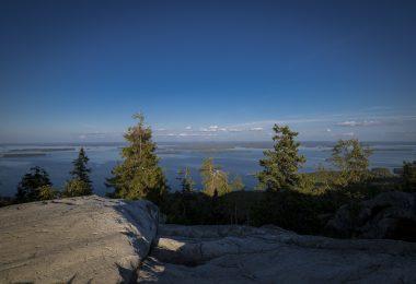 Ausblick vom Gipfel Ukko-Koli