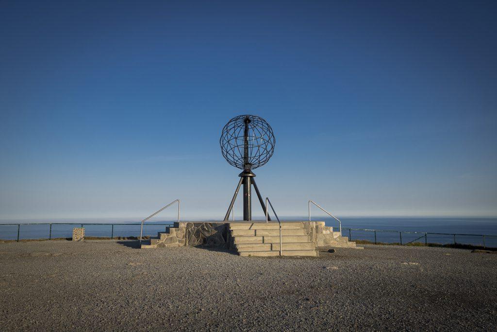 Menschenleer, es waren an dem Tag sehr wenige Touristen am Nordkap.