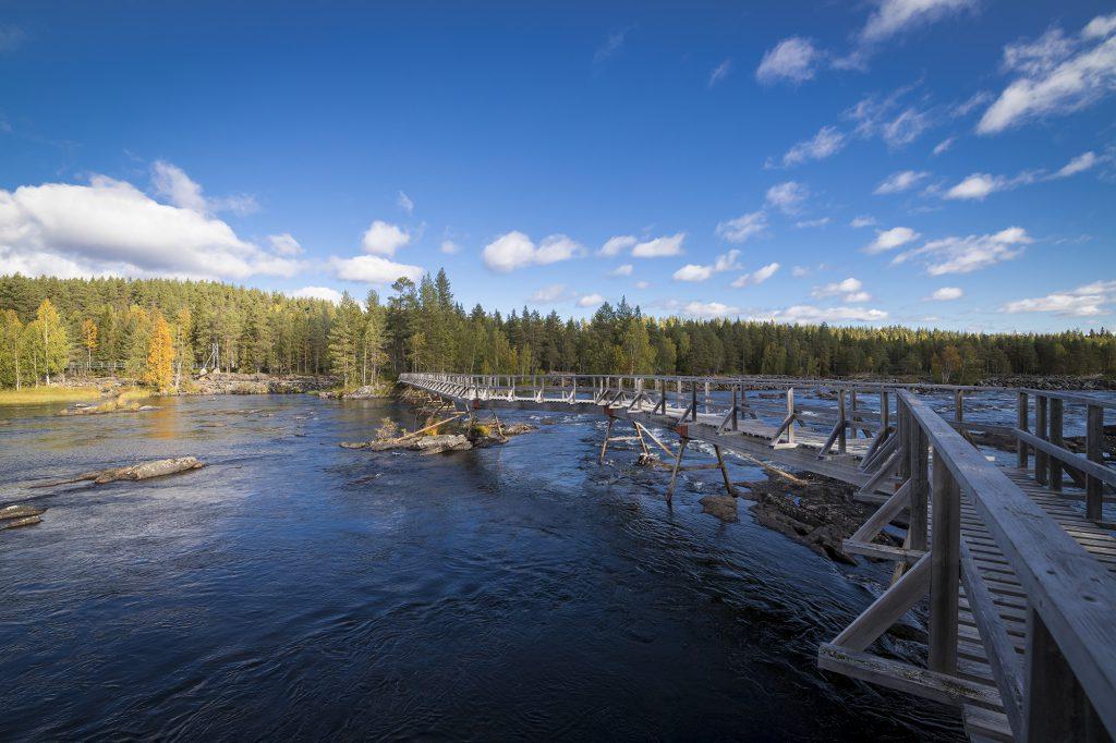 Brücke Mardseleforsen
