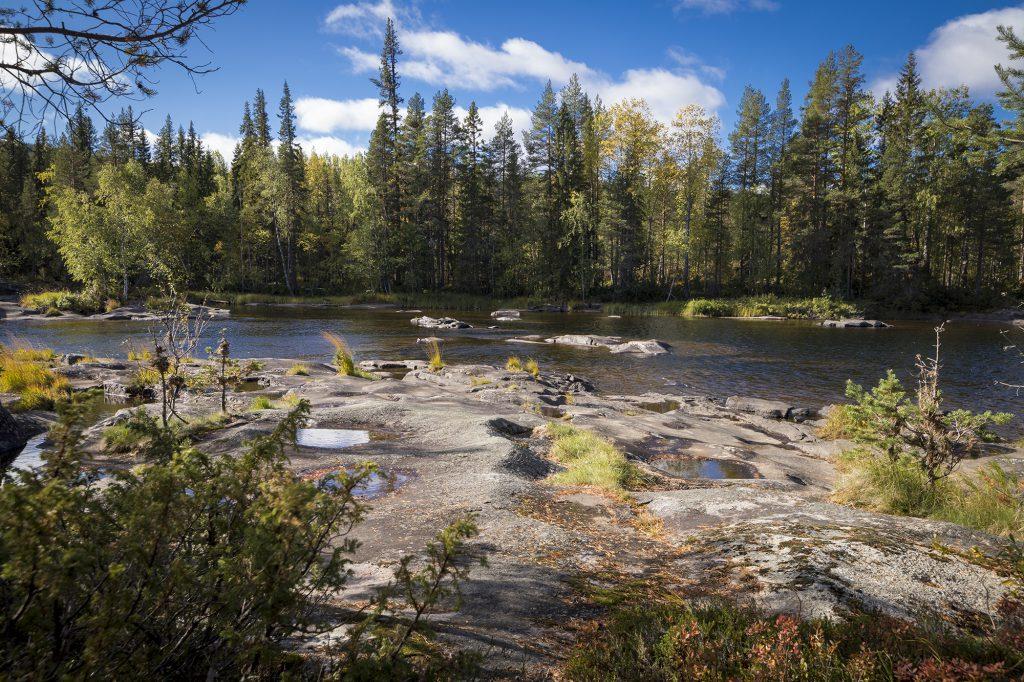 Fluss Vindelälven