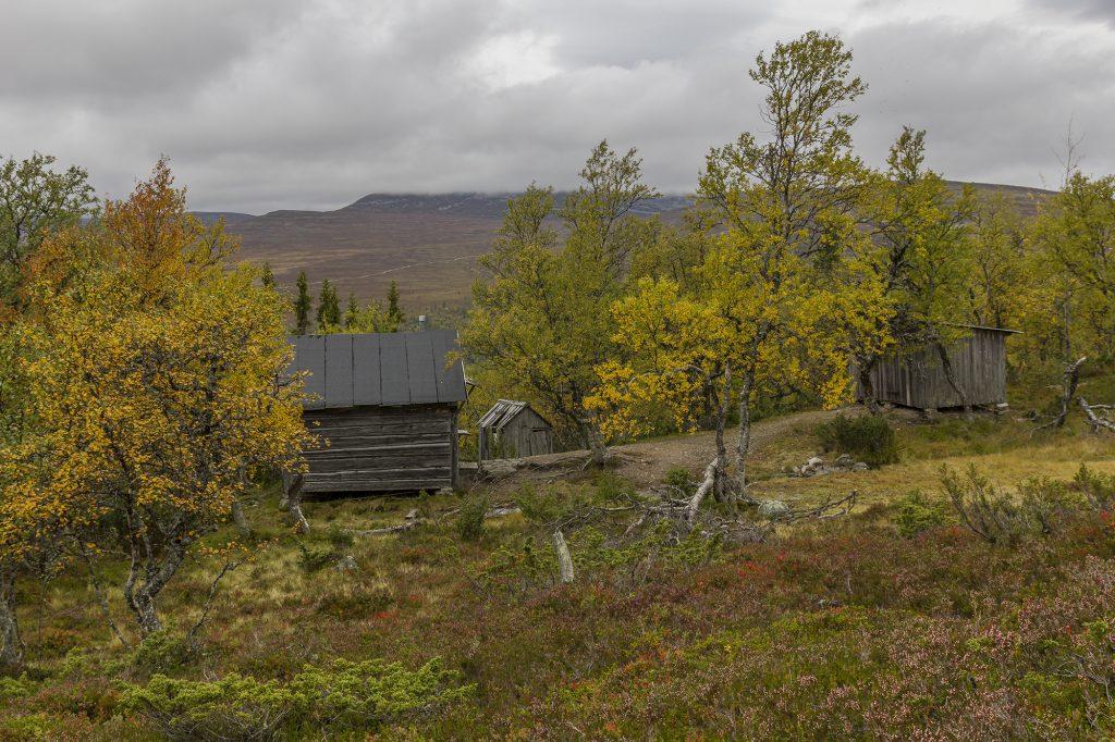 Hütten der Familie Olsson