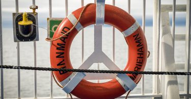 Rettungsring der Finnmaid