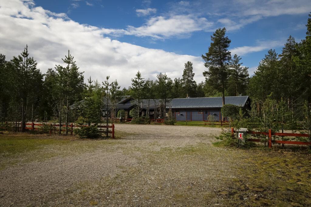 Hauptgebäude Sörälven Campingplatz