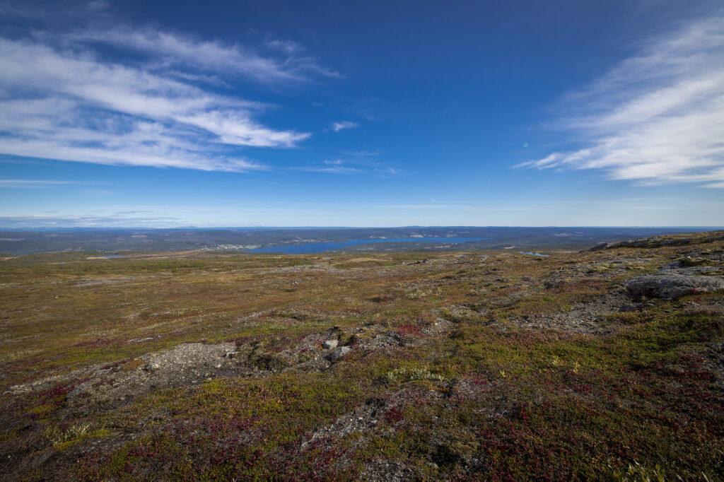 Ausblick auf Åre