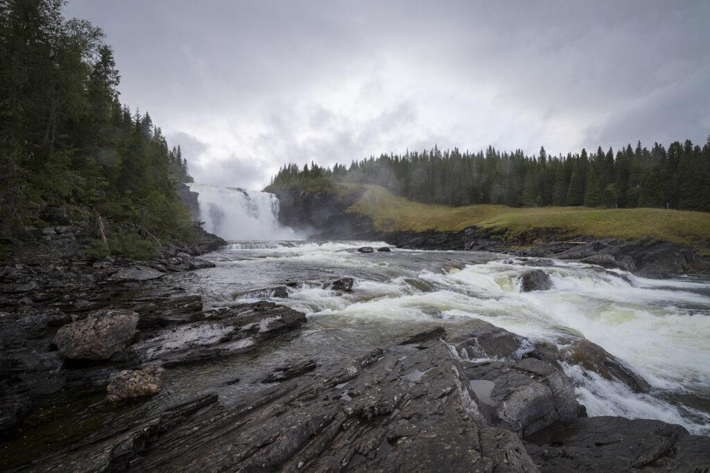 """Wasserfall """"Tännforsen"""""""